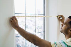 измерение окна