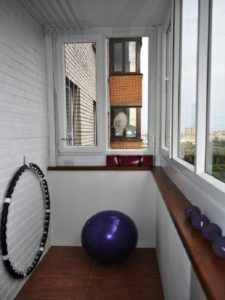 балкон спорт