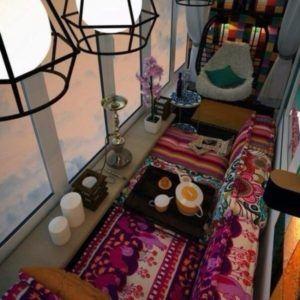 Идеи оформления лоджии и балкона в квартире