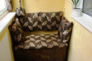 балконный диван