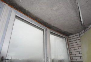 конденсат на балконе