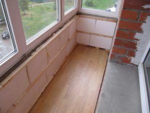 переоборудование балкона