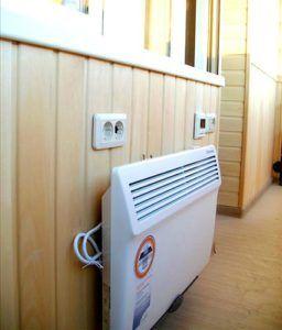 Способы отопления балкона