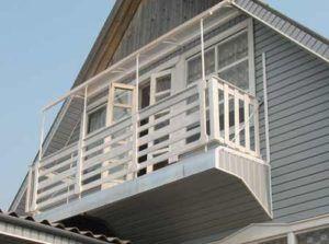 место для балкона