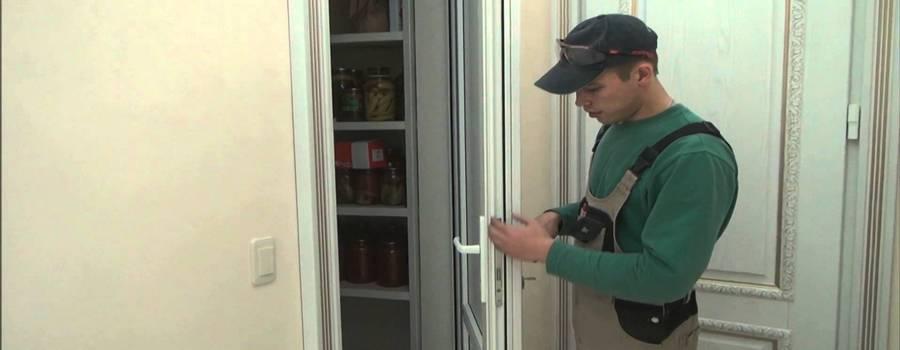 ремонт ручки двери