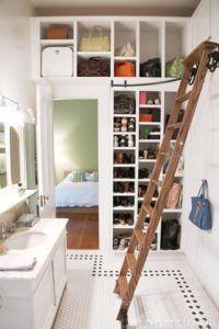 гардеробная балкон