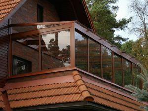 балкон на даче