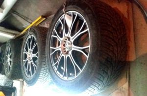 Подвешенные шины