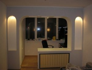 проем балкона