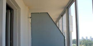 Перегородка на балкон
