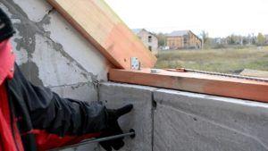строительство мансардного балкона