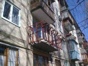сварка конструкции балкона