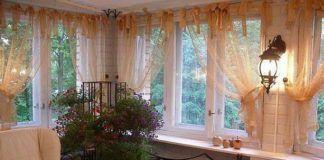 тюль балкон
