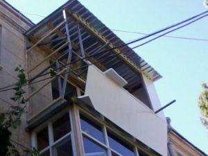балкон обшивка