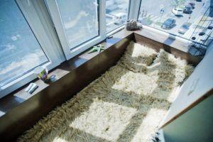 обшивка спальни
