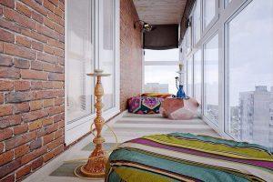 кальянная балкон