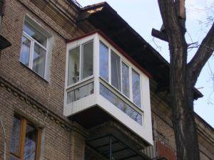 Капитальный ремонт балкона