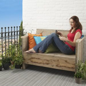 скамейка балкон