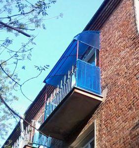 балкон материал