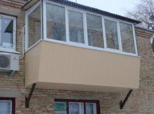 расширить балкон