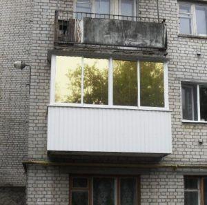 балкон тонировка