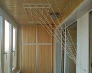 балкон сушилки