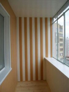 балкон пластик панели