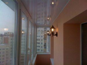 электричество на балконе