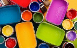 сочетание красок