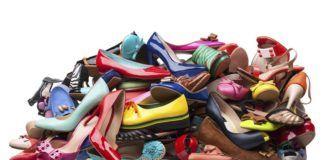гора обуви