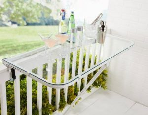 откидной столик балкон