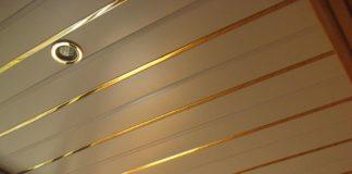 потолок балкон