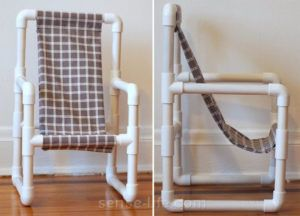 стул из труб
