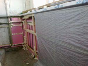 теплоизоляция на балконе