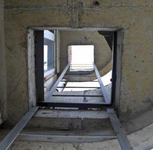 лестница при пожаре