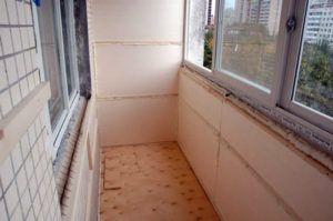 утепление кухни балкона
