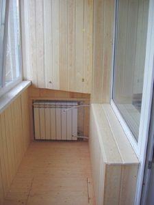 калькулятор количества секций радиатора для отопления балкона