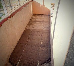 калькулятор стяжки пола на балконе