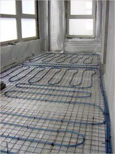 калькулятор труд водяного пола на балконе