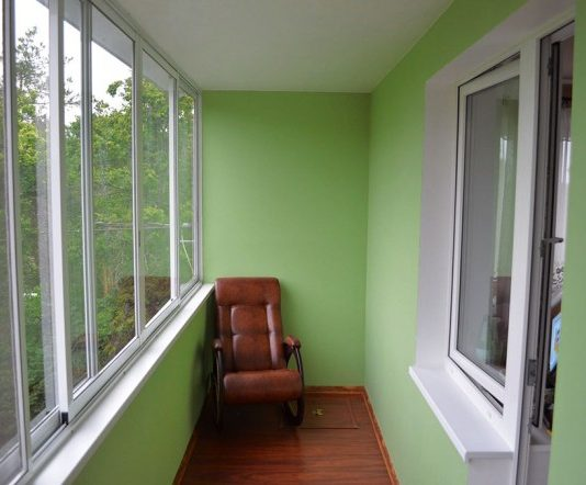 обшивка гипсокартоном потолка на балконе