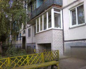 балкон первый этаж