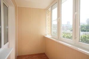 очищенный балкон