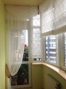шторы на балкон