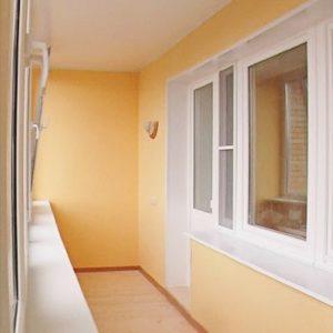 балкон с гипсокартоном
