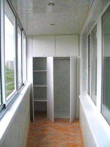 шкаф балконный