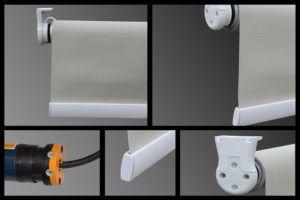 электрическая рулонная штора