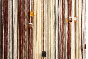 шторы из нитей