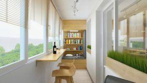 комната балкон