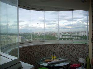 столовая балкон