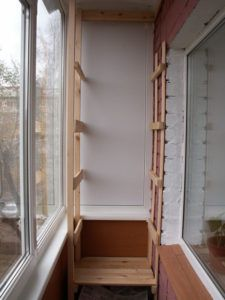 балконный стеллаж